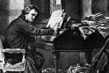 Bladmuziek Für Elise piano Beethoven