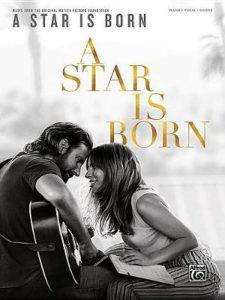 Bladmuziek piano gitaar A Star Is Born Song Book