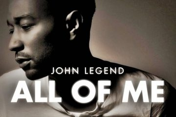 Bladmuziek piano All of Me John Legend