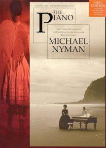Filmmuziek bladmuziek the piano Nyman