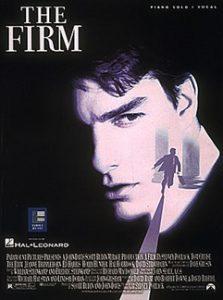 Filmmuziek piano The Firm songbook