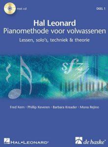 Hal Leonard piano leren voor volwassenen Hal Leonard Pianomethode voor volwassenen