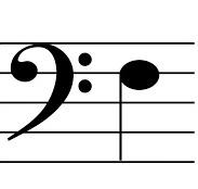 Noten leren lezen piano F sleutel met F noot 1