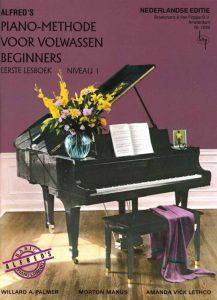Piano leren spelen volwassenen Alfred's Piano Methode voor Volwassen Beginners