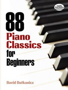 bladmuziek piano beginners klassiek