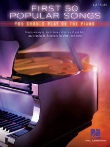 Pianoboek beginners piano bladmuziek pop