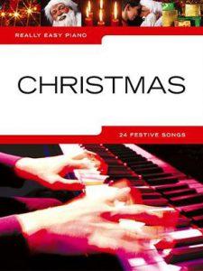 Pianoboek bladmuziek kerst