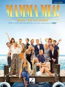 Bladmuziek piano Mamma Mia filmmuziek