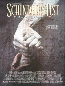 Bladmuziek piano Schindler's List