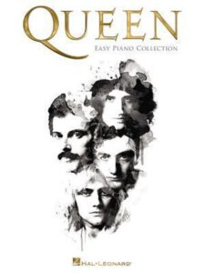 Bladmuziek piano beginners pop Queen easy