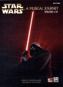 Bladmuziek piano filmmuziek Star Wars for Beginning piano solo