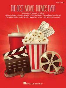 Bladmuziek piano filmmuziek The Best Movie Themes Ever