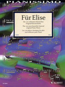 Bladmuziek piano klassiek Pianissimo Fur Elise