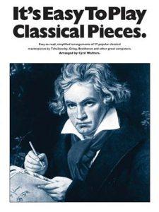 Bladmuziek piano klassiek beginners