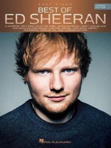 Bladmuziek piano pop Best of Ed Sheeran