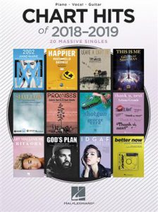 Bladmuziek piano top 40 pop Chart hits 2018-2019