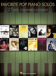 bladmuziek piano pop top 40