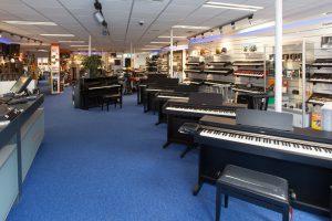 muziekwinkel piano's