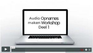 Online leeromgaving Audio Opnames maken