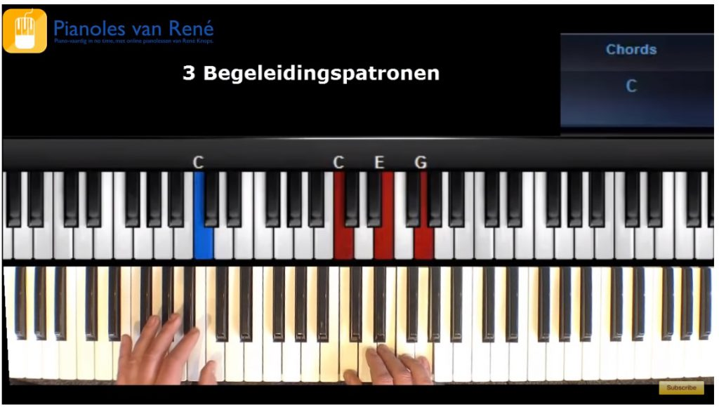 Review Pianoles van René video
