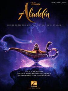 Bladmuziek piano Aladdin