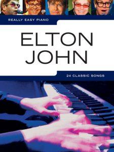 Bladmuziek piano Elton John beginners
