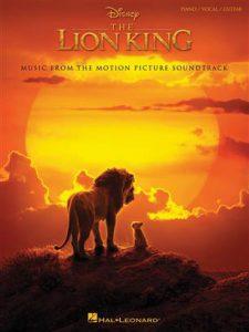 bladmuziek piano lion king