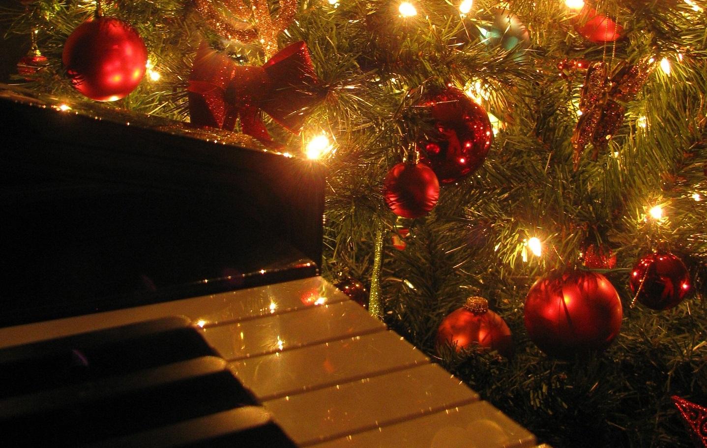 Bladmuziek piano Kerst