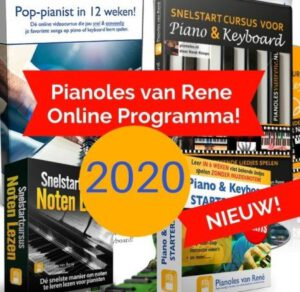 Pianoles van Rene review 2020