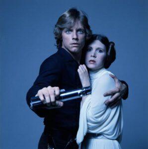 Luke en Leia