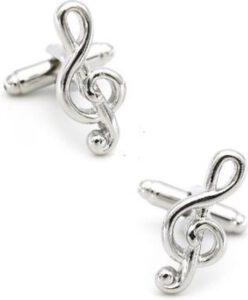 origineel cadeau muziek manchetknopen