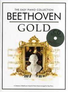 Bladmuziek piano Beethoven Gold