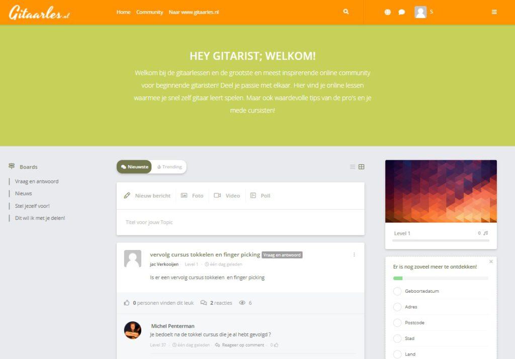 Gitaarles.nl review community