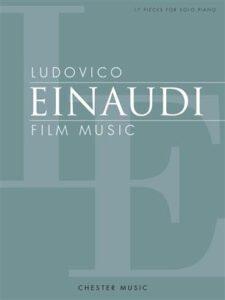 Bladmuziek piano Ludovico Einaudi Film Music