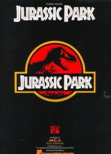 Bladmuziek piano Jurassic Park