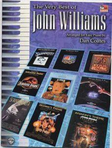 Bladmuziek piano John Williams the very best of easy piano