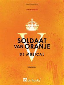Bladmuziek piano Soldaat van Oranje