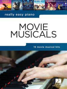 Bladmuziek piano movie musicals beginners
