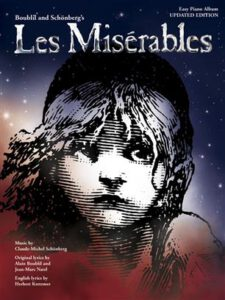 Bladmuziek piano musicals Les Miserables