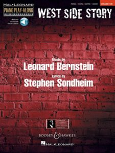 Bladmuziek piano musicals West Side Story