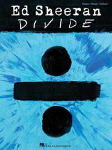 Bladmuziek piano Perfect Ed Sheeran divide akkoorden gitaar