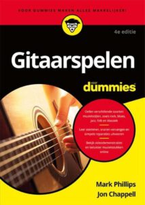 Gitaarboek voor beginner gitaarspeen voor dummies