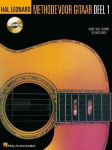 Gitaarboek voor beginners Hal Lenard Methode voor gitaar deel 1