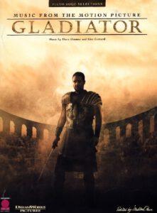 Bladmuziek piano Hans Zimmer Gladiator